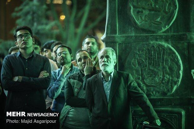مراسم احیای شب نیمه شعبان در مهدیه تهران