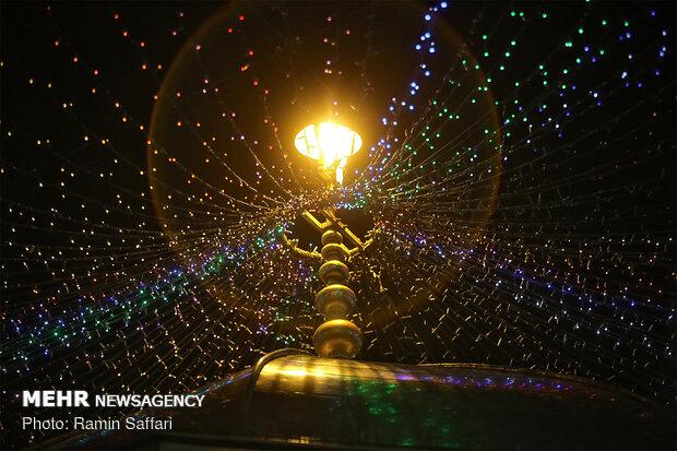 شهرها و روستاهای استان گیلان غرق شادی و نور شد