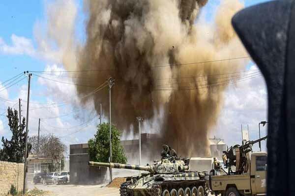 Libya'daki çatışmalarda 10 Hafter milisi öldürüldü