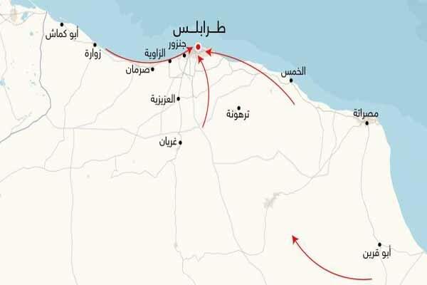 راز مکالمه تلفنی ترامپ و حفتر/ نبرد پشت دروازه های طرابلس
