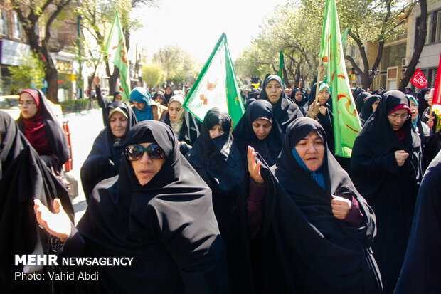 اجتماع «منتظران ظهور» در تبریز