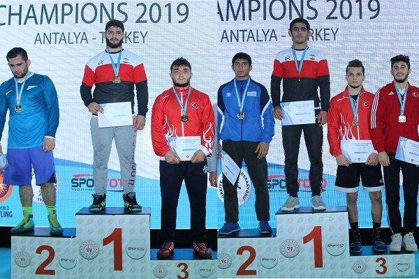 سومی آزادکاران ایران در تورنمنت ترکیه با ۳ مدال طلا