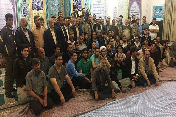 اجرای برنامه های قرآنی در مناطق سیل زده آق قلا