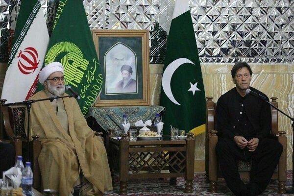 عمران خان: نتطلع الى أعلى مستوى من العلاقات مع ايران