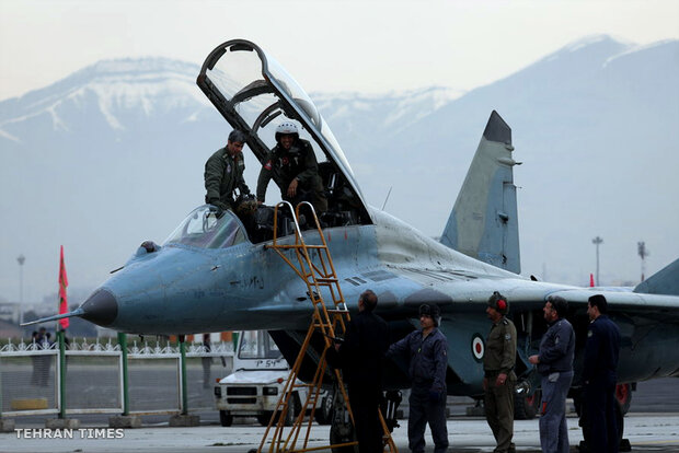 Armed Forces' aerial achievements in Tehran