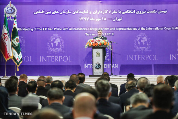 9th meeting of Iran Police with foreign ambassadors