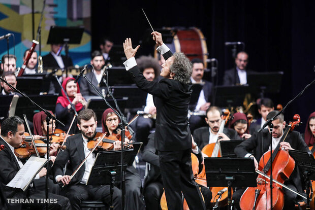 Tehran Symphony Orchestra performs at Fajr Music Festival