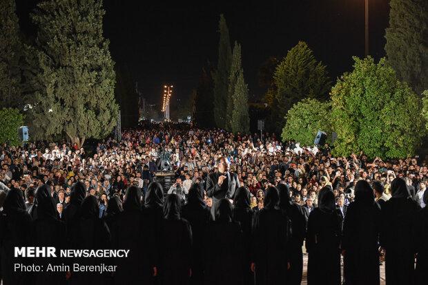 آیین بزرگداشت روز سعدی در سعدیه شیراز