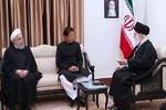 قائد الثورة الاسلامية يستقبل رئيس وزراء باكستان