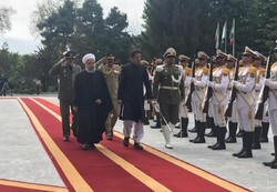 President Rouhani receives Pakistani PM