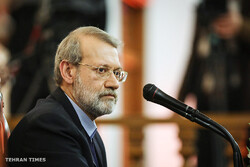 Larijani stresses EU trade channel for Iran must include oil sales