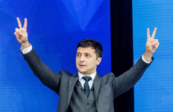 Comedian wins landslide victory in Ukrainian presidential election