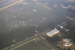 صوبہ خوزستان اور لرستان کے سیلاب سے متاثرہ علاقوں کی ہوائی تصویریں