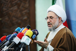 WFPIST sec. gen. holds presser of 32nd Intl. Islamic Unity Conf.