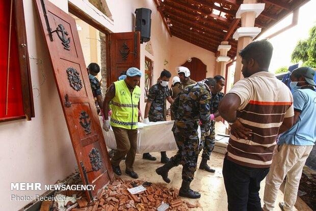 هشت انفجار در سریلانکا