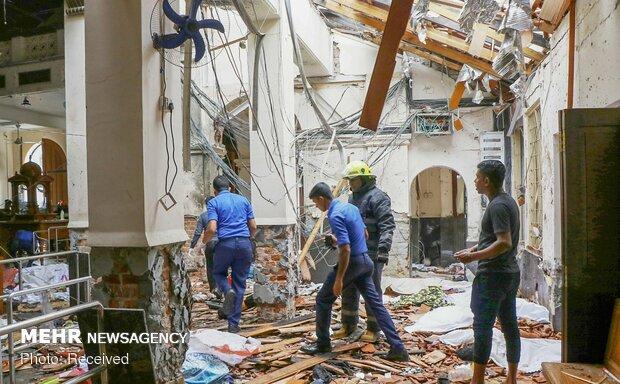 سری لنکا میں چرچ کے نزدیک ایک اور بم دھماکہ