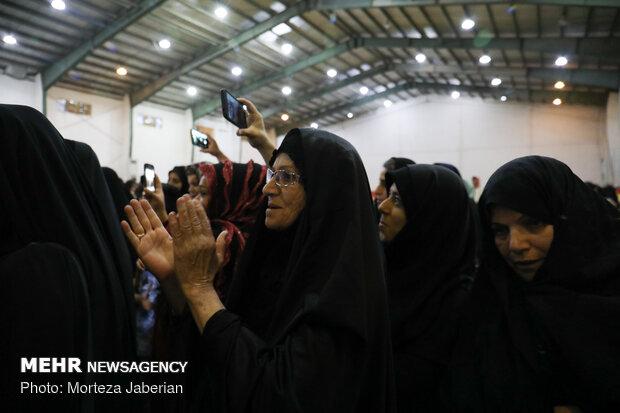 جشن ازدواج زوج سیل زده خوزستانی