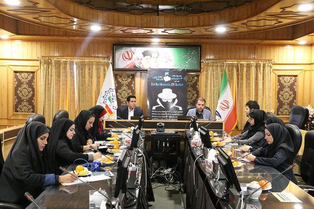 برگزاری دومین دوره مسابقات ملی فتح پرچم غرب کشور در کرمانشاه