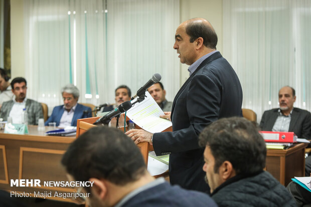پنجمین جلسه دادگاه رسیدگی به اتهامات متهمان پرونده پتروشیمی