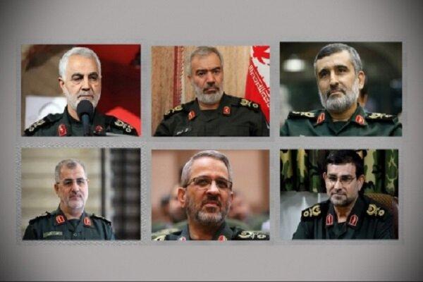 پیام تبریک فرماندهان ارشد سپاه به «سرلشکر سلامی»