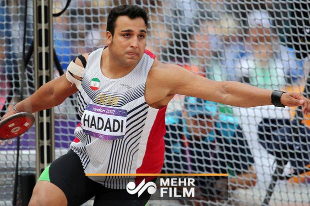 احسان حدادی رکورد شکست و قهرمان آسیا شد