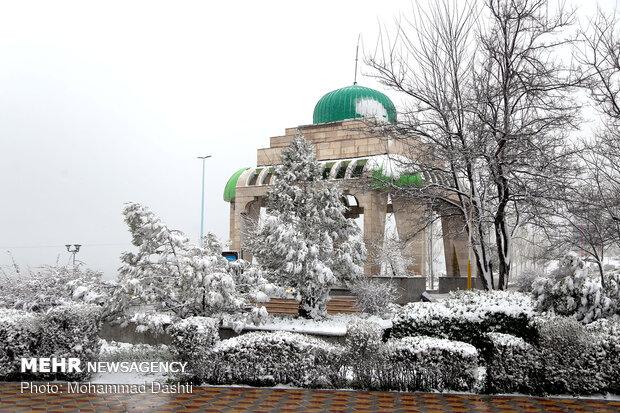 بارش باران در شمال و شرق کشور/ در ارتفاعات برف میبارد