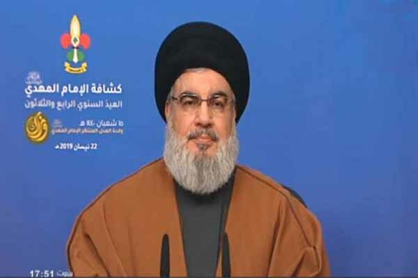 US anti-Iran sanctions to fail as they will push oil prices higher: Nasrallah