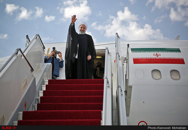 Pres. Rouhani to embark for Kyrgyzstan in few hours