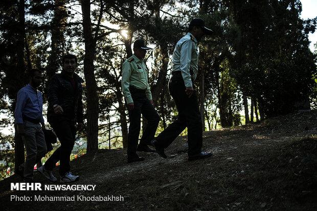 طرح امنیت و انضباط اجتماعی پلیس تهران