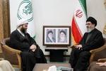 سیدهاشم الحیدری با رئیس سازمان تبلیغات اسلامی دیدار کرد