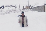 بارش ۶ متری برف در ورزقان