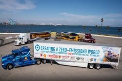 تولید کامیون هیدروژن سوز تویوتا با آلودگی صفر