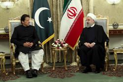 Hassan Rouhani - Imran Khan