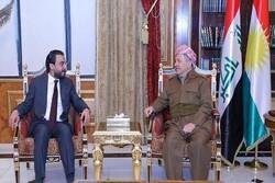 تاکید «حلبوسی» و «بارزانی» بر حل مسائل فیما بین بغداد و اربیل