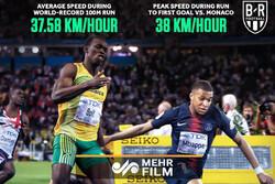 ستاره فرانسوی رکورد دوی سرعت را شکست