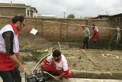 بیش از ۱۵۰۰ منزل مسکونی در مناطق سیل زده گلستان از آب تخلیه شد