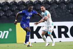 دیدار تیم های فوتبال استقلال و الهلال عربستان