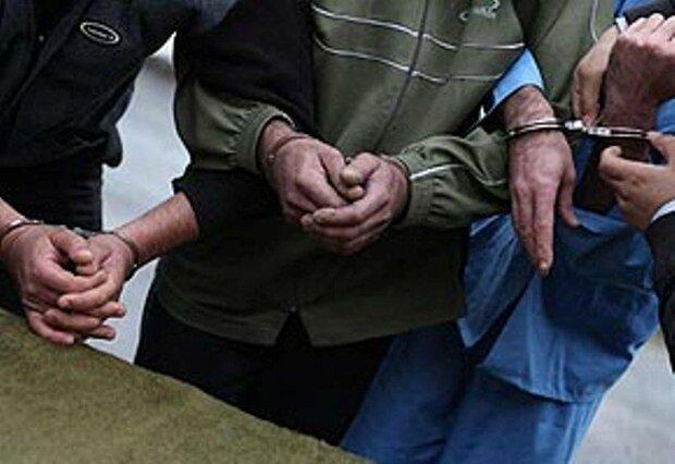 باند سارقین منزل در رودهن دستگیر شدند