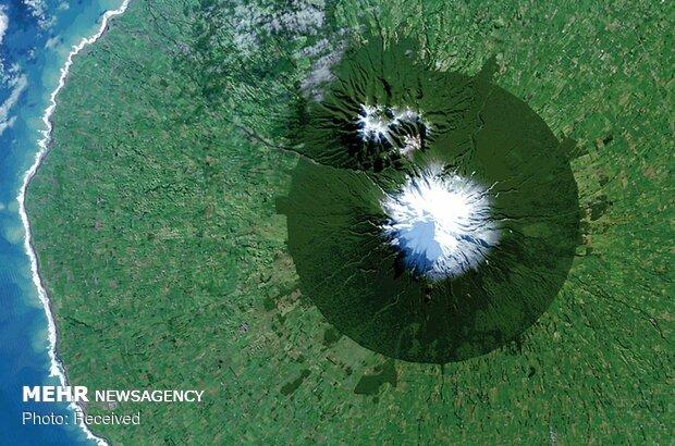 زمین از نمای بالا