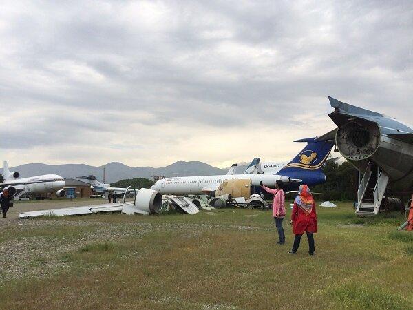 مرکزی برای نمایش هواپیماهای اسقاطی/آموزش مهمانداری در دستور کار