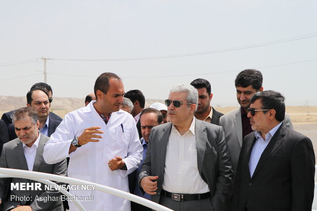 Technology tower construction project kicks off in Qeshm