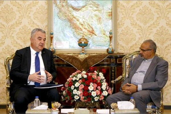 we seek expanding bilateral economic relations with Tehran: Bosnian diplomat