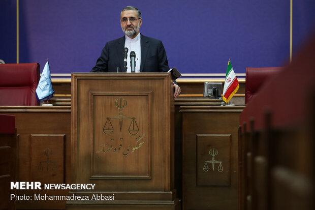 1st presser of new judiciary spokesman