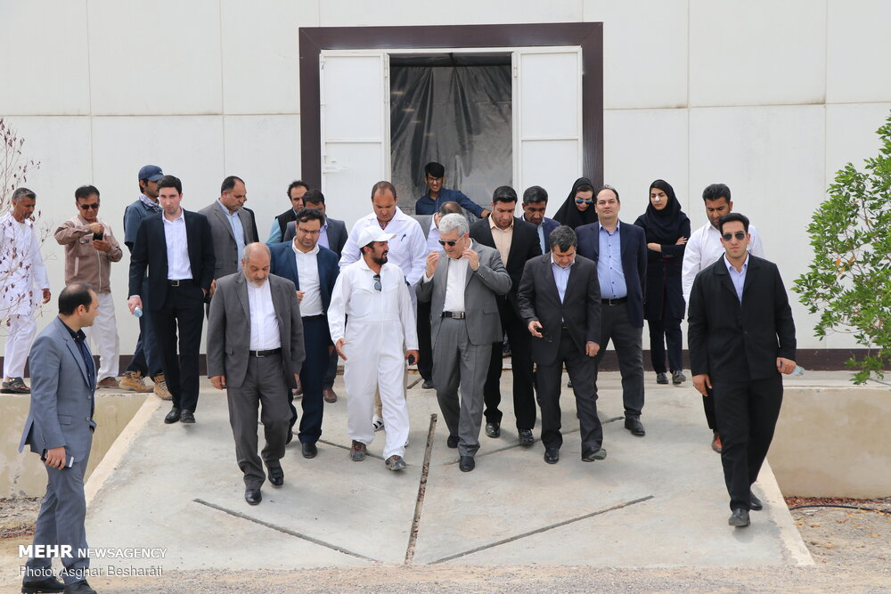 Technology tower construction project inaugurated in Qeshm