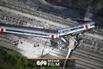 فیلمی از آتش گرفتن قطار حامل اتانول در امریکا
