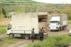 توزیع کمکهای بانکپاسارگاد در مناطق سیلزده استان گلستان
