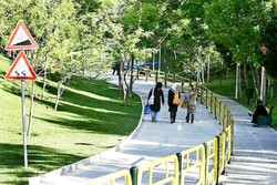 پارک بانوان کرمانشاه شهریور امسال به بهره برداری می رسد