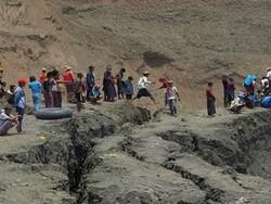 میانمار میں پتھر کی کان میں 50 کان کن ہلاک