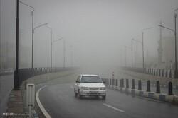 کندوان و گدوک مه آلود است/ ترافیک عادی