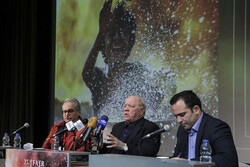Paul Schrader's presser in Tehran